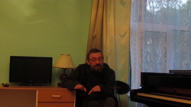 М Журавлёв Отрывок из лекции по истории стилей