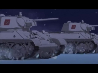Girls und Panzer - Katyusha (full version with video)