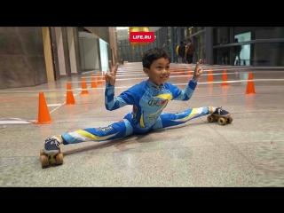 Индиец установил рекорд в лимбо-скейтинге