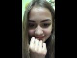 Юлиана Берегой в прямом эфире ВКонтакте