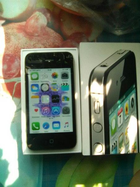 #NMK_телефоны Iphone 4S , состояние нового,ни одной царапиныТолько ес