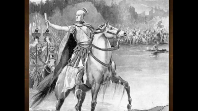 08. Caesar Crosses the Rubicon (49 B.C.)