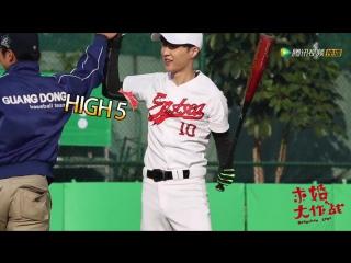 [video] lay @ operation love: baseball player xiaolai bts video