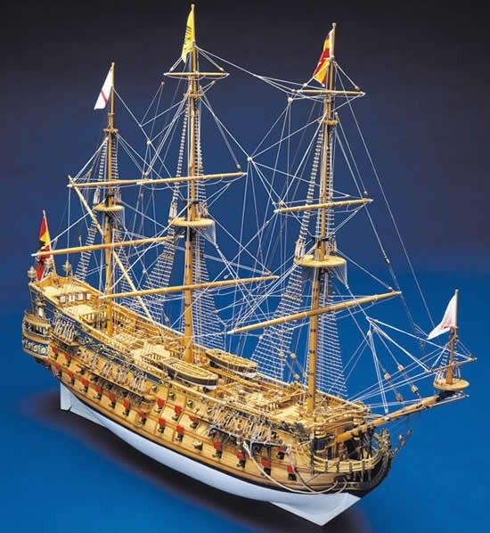 Линейный корабль I ранга San Felipe 1:50 OxbniLatSG0