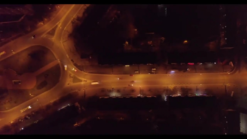 Ночной Чернигов Автор видео: Виталий Перетятько