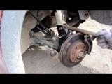 Opel Corsa C #Замена передних амортизаторов