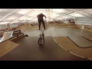 Mike Hucker Clark BMX tricks