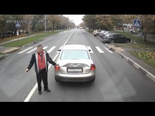 Deswegen solltest du einem LKW Fahrer nicht den Mittelfinger