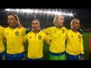 Vad hände med musiken!? Här förvandlas Sveriges nationalsång inför Iran-matchen till en riktig skratthistoria!