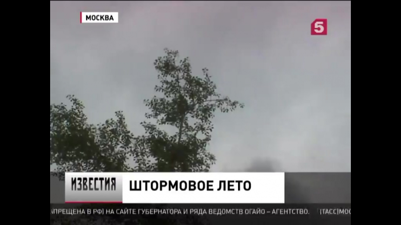 Центральную Россию сегодня снова ждёт непогода