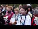 Russia: Mourners honour Airbus-321 crash victims in burial of unidentified bodies