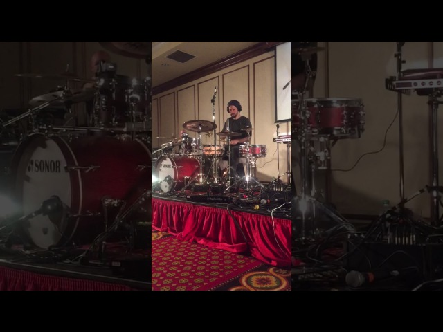 Benny Greb - Victoria Drum Festival May 2016