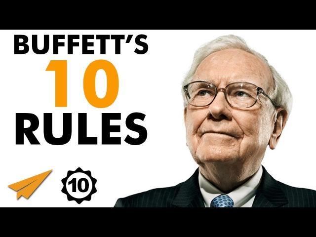 Warren Buffett's Top 10 Rules For Success - Volume 2 (@WarrenBuffett)