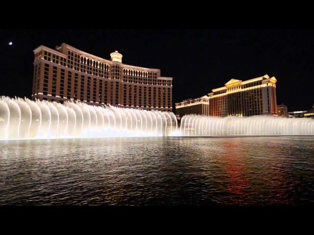 Bellagio Fountains - Time to Say GoodBye (Con te partiro) Andrea Bocelli
