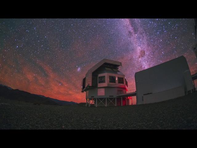 An Active Night over the Magellan Telescopes