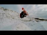 Snowboarding in the Yeti Park.№4