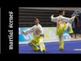 Tai Chi Kung Fu Couple Chinese Martial Artists Performance Taijiquan  Kung Fu Quest