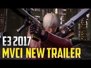 E3 2017 ▰ New Marvel Vs Capcom Infinite Story Trailer With Dante/Zero/Nova/Spencer & More