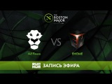 Ad Finem vs EHOME - The Boston Major, Группа D [CaspeRRR, Droog]