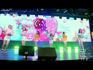 [4K] 20161029 씨앗(SEEART) Pre-Debut Bloom the SEEART 1회 전체직캠 - 01.ICE CREAM