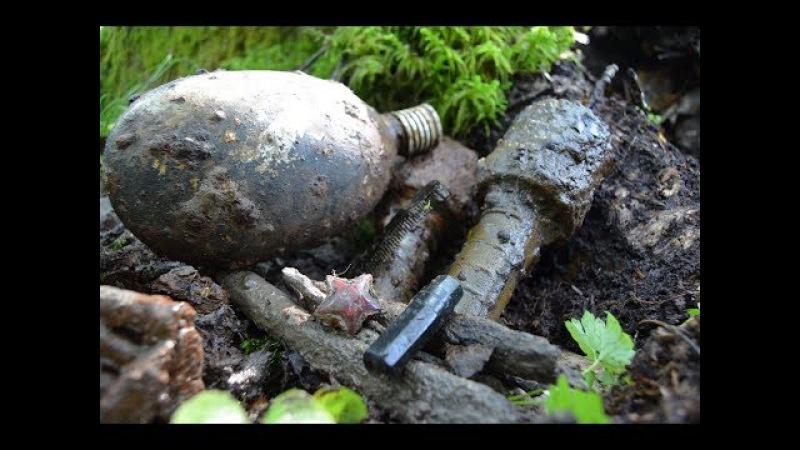 Коп по войне - Война в болотах. Рубин / Searching with Metal Detector