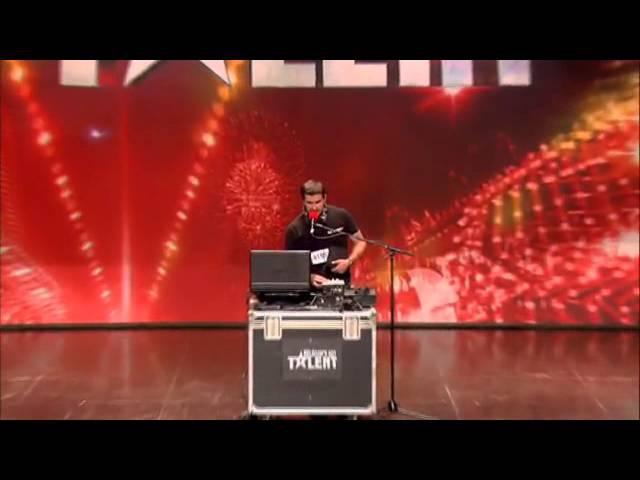 DJ Albert in Belgium's Got Talent... VK Magazine