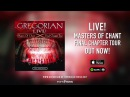 Gregorian LIVE short trailer earMUSIC