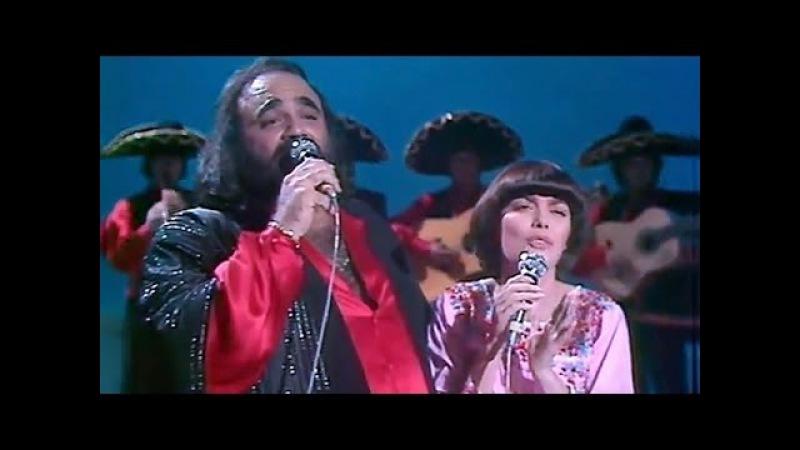 Mireille Mathieu et Demis Roussos - Cucurrucucú Paloma (1980)