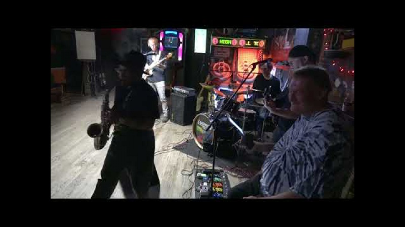 Bluesy Dan Band with Jim Moran at AmericanTrash 9-2-17 Set 1