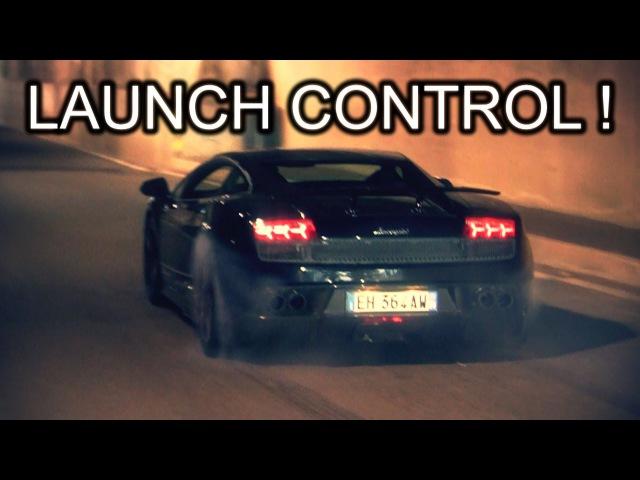 Lamborghini LP570-4 Superleggera CRAZY LAUNCH CONTROL!!