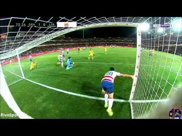 Increíble fallo de Jese para convertir el 1-1 entre Granada y Las Palmas