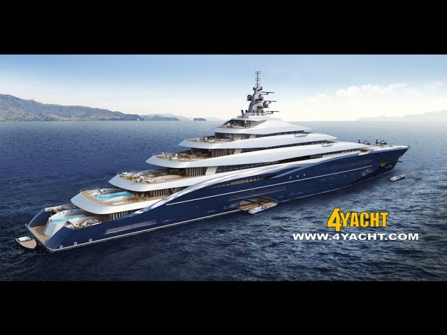 $770M USD Billionaires Yacht, Fox News Shepard Smith Explores The World's Largest Yacht