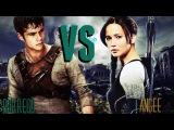 Katniss vs. Thomas Maze Runner vs. The Hunger Games Borrego ft. Angee (Prod. Zade)