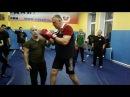 Валерий Крючков встречная атака при прямом ударе ногой