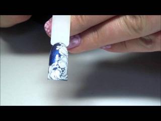 Узоры зимы, Дизайн ногтей к новому году
