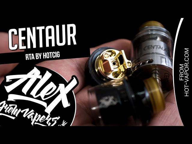 Centaur RTA l by Hotcig l Годный односпиральник l Alex VapersMD review 🚭🔞