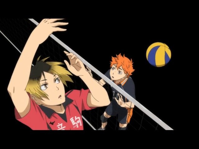 Haikyuu Match Moments Karasuno Vs Nekoma Practice Match