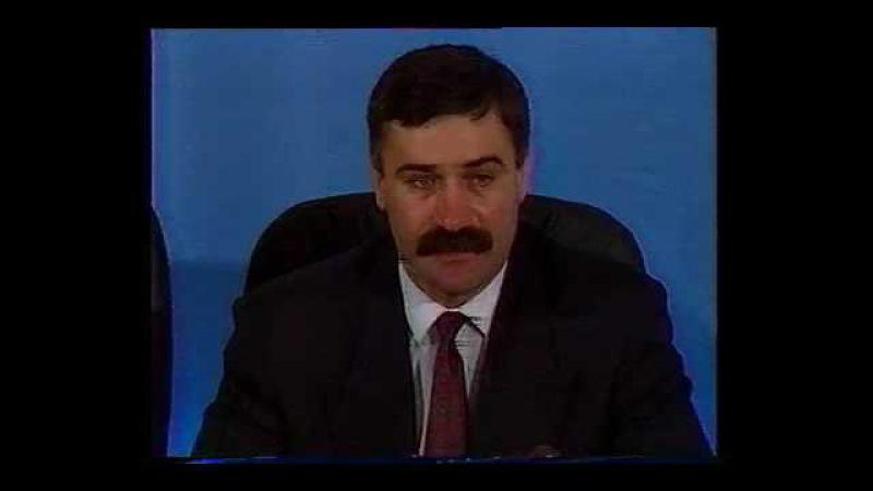 Жесткое выступление Руслана Аушева (1993 год)
