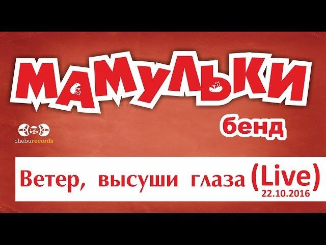 Мамульки бенд - Ветер, высуши глаза (live Джао Да, Ярославль)