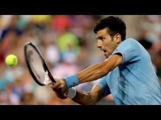 Hot Shot: Djokovic Quick Hands At Indian Wells 2017
