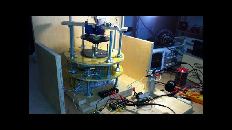 O motor - gerador novo trabalho printsyp Двигатель - генератор новый принцып работы