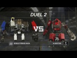 Giant Robot Fight USA vs Japan only robot fights