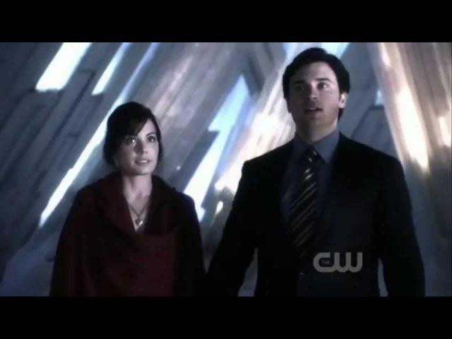 Smallville 10x20 Lois Gets Clark's Powers