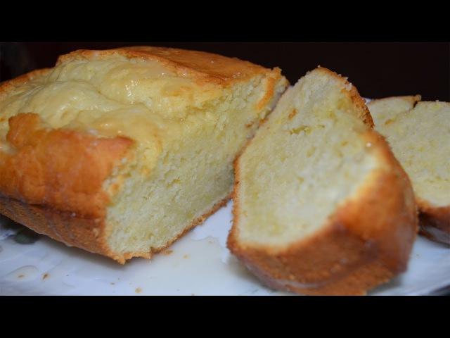 Лимонный кекс (рецепт за 2 минуты)