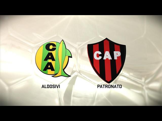 Fútbol en vivo. Aldosivi vs. Patronato. Fecha 13. Torneo de Primera División 20162017. FPT