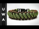 How to make the Bootlace Paracord Survival Bracelet With Buckle Curling Millipede Tutorial