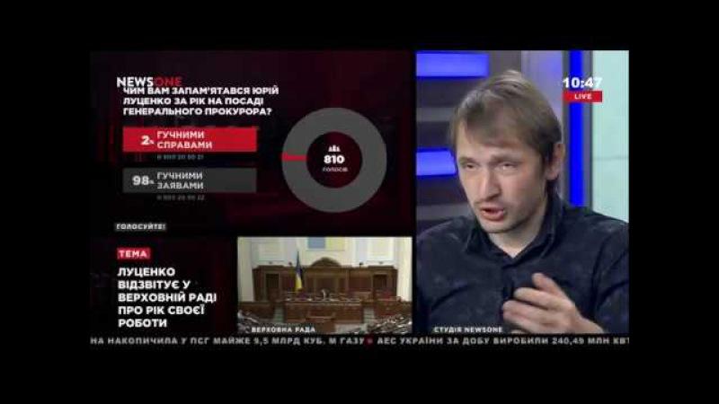 Еременко: генеральный прокурор Луценко слишком связан с Порошенко 24.05.17