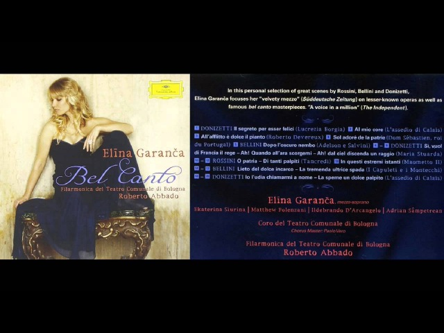 Elina Garanca - Bel Canto / 2009