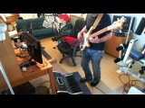 Moog Taurus 1 Bass pedals &amp Vintage 1963 Rickenbacker 4001 on a Genesis excerpt from track Undertow