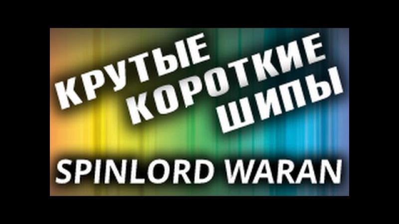 Супер быстрые короткие шипы SPINLORD Waran мега обзор как играть короткими шипами